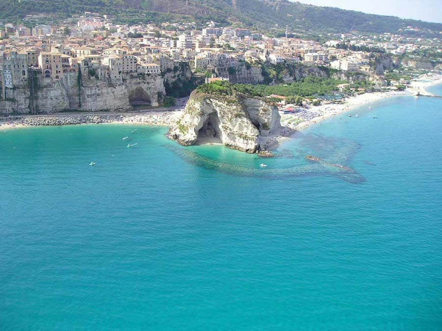 Tropea best beach in Calabria