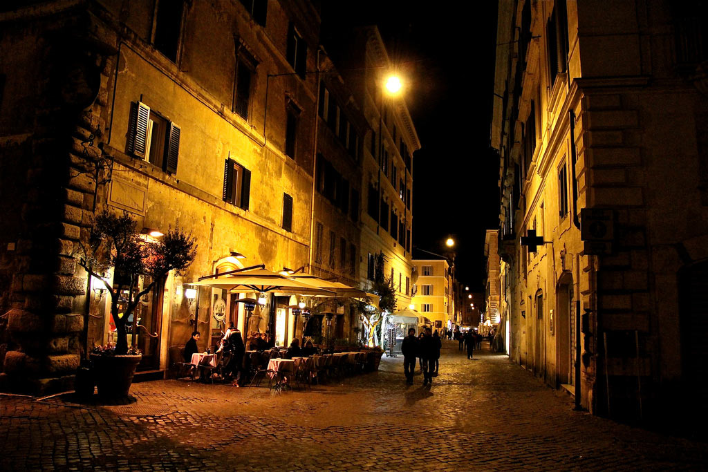Rome best sights at night