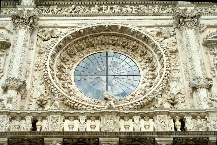 Baroque church in Lecce