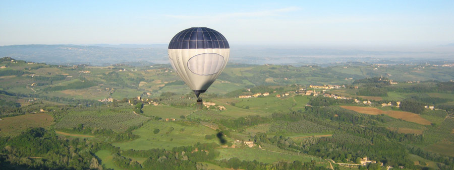 Volare in Mongolfiera in Toscana