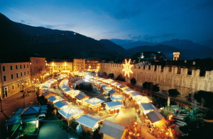 Christmas shopping in Trento
