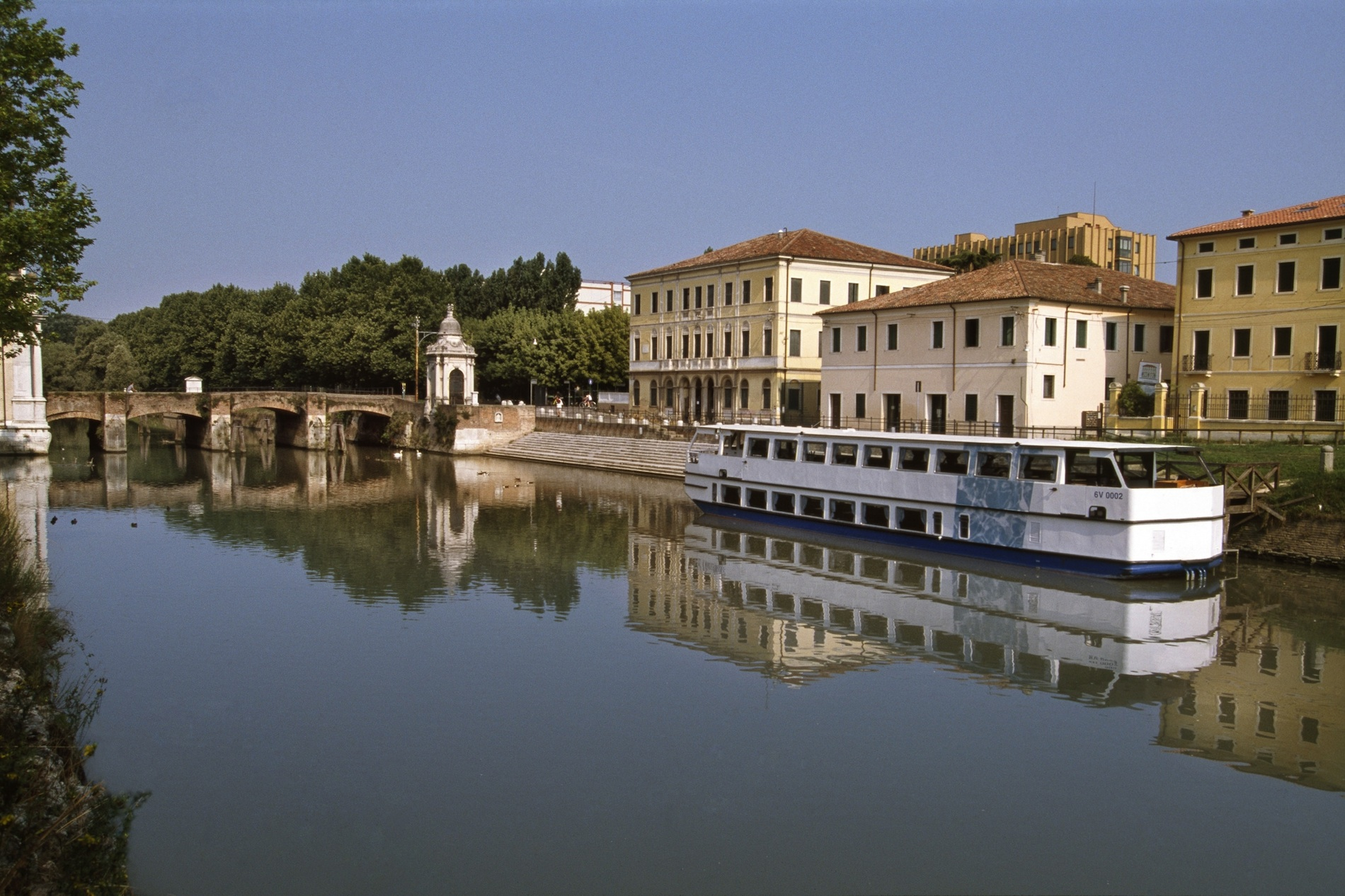 River tourism in Padua