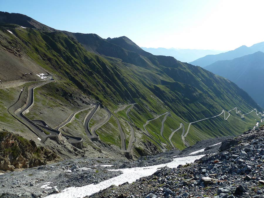 Stelvio Pass in Valtellina