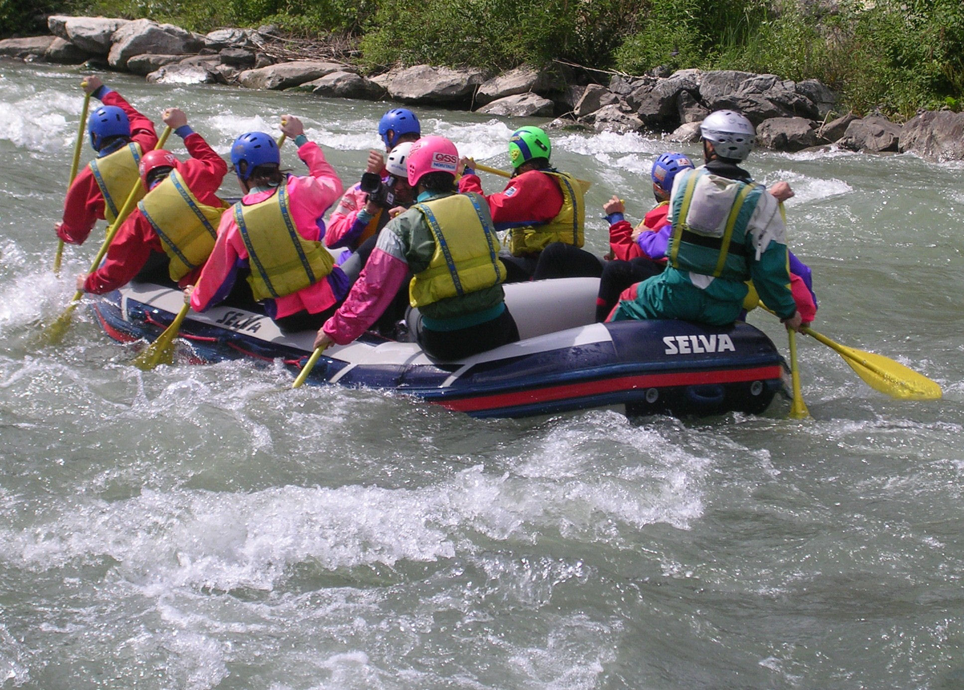 Rafting and extreme sports in Valtellina