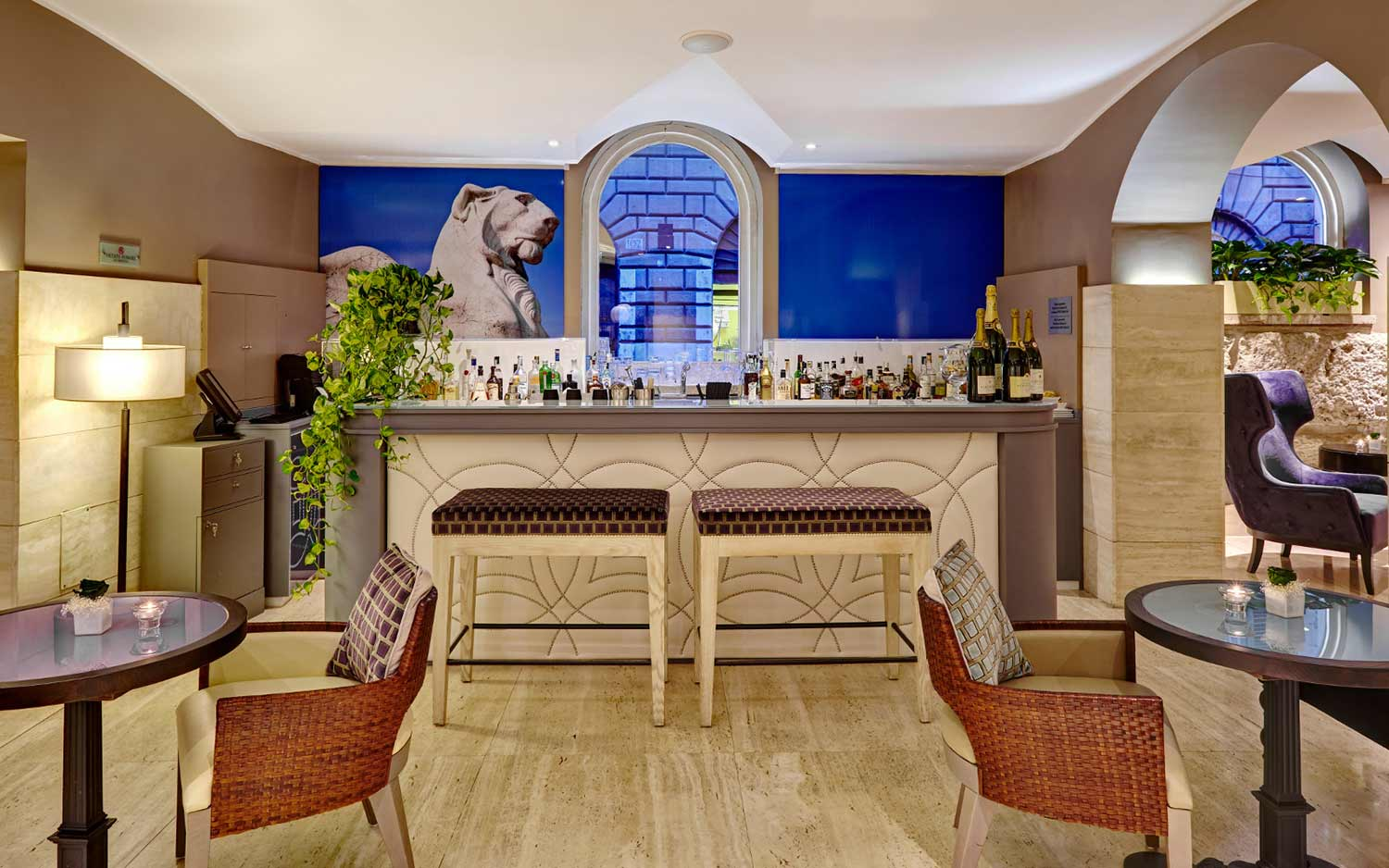 Hotel indigo rome st george boutique hotel in roma for Hotel boutique rome