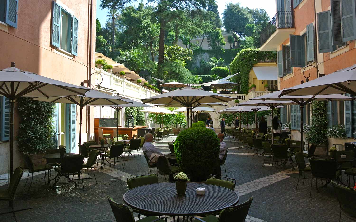 Hotel de russie boutique hotel roma for Hotel boutique rome